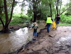Patrolling Mimosa Creek