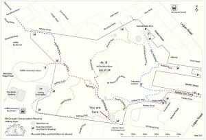 Glider map
