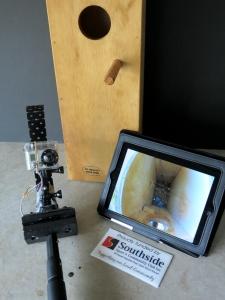 Nest box monitoring equipment