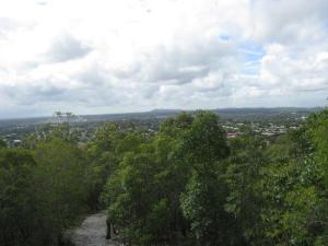 View from Federation lookout, 8 March
