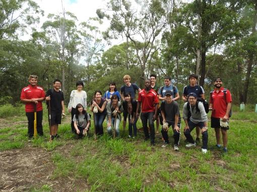 Lantana Buster Team - 25 Mar 2016