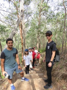 Mates on trail - 9 Nov 2019